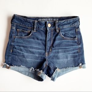 American Eagle | High Waisted Shortie Size 8